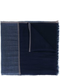 Brunello Cucinelli Two Tone Scarf