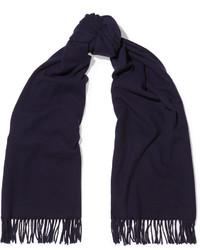 Acne Studios Canada Wool Scarf Navy