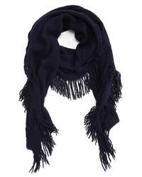 Stella McCartney Fringe Cashmere Wool Scarf