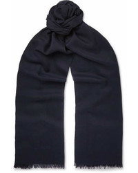 Tom Ford Fringed Cashmere And Silk Blend Scarf