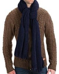 Altea Knit Wool Boucle Scarf