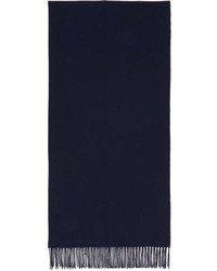 Acne Studios Navy Canada Narrow Scarf