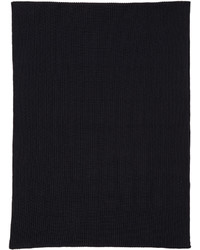 Lemaire Navy Wool Scarf