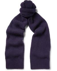 Ribbed cashmere scarf medium 4353047
