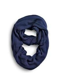 Sperry Topsider Shoes Oversized Infinity Scarf Navy