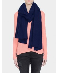 Calvin Klein Double Faced Angled Scarf | Where to buy & How to wear