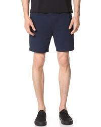 NATIVE YOUTH Seersucker Drawstring Shorts