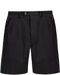 Wooyoungmi Seersucker Tailored Shorts