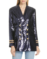 Polo Ralph Lauren Double Breasted Sequin Blazer