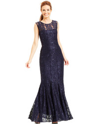 Alex Evenings Sequin Lace Mermaid Gown And Jacket | Where to buy ...