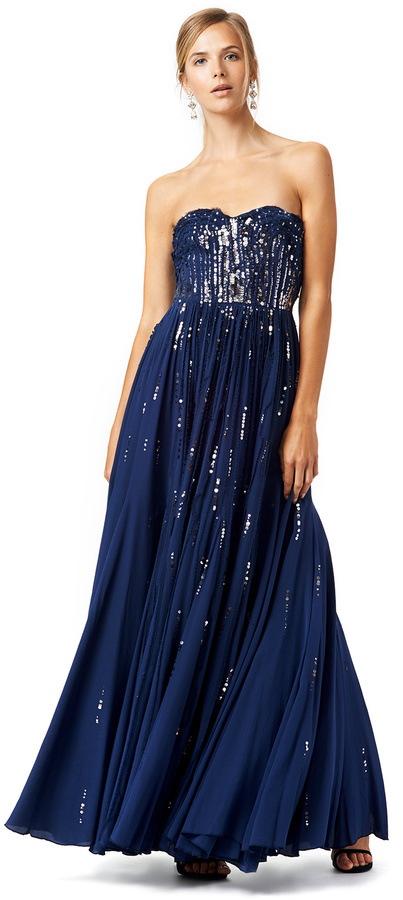 Rebecca Taylor Meteor Shower Gown | Where to buy & how to wear