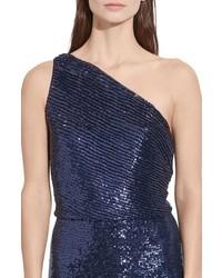 40e890f7e7 ... Lauren Ralph Lauren One Shoulder Sequin Gown