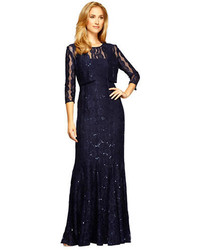 1d010ab0bdd40 Women's Navy Sequin Evening Dresses from Lord & Taylor | Women's ...