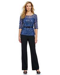 Esme belted sequined blouse medium 119900
