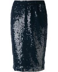 P.A.R.O.S.H. Sequin Pencil Skirt