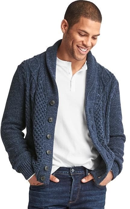 Gap Cable Knit Button Cardigan | Where to buy & how to wear