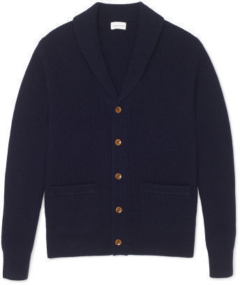 Club Monaco Elbow Patch Shawl Cardigan