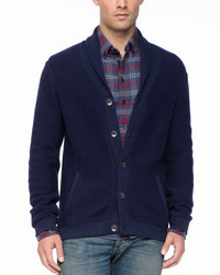 Donaghy shawl cardigan navy medium 118264