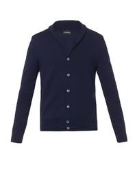 Ermenegildo Zegna Fine Knit Wool Cardigan