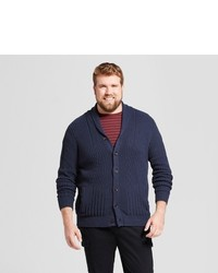 Goodfellow Co Big Tall Shawl Cable Cardigan