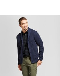 Goodfellow Co Shawl Cable Cardigan