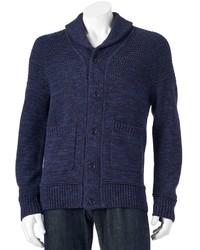 Apt. 9 Modern Fit Marled Shawl Collar Cardigan