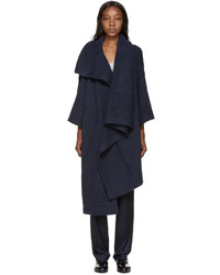 Stella McCartney Navy Mohair Cape