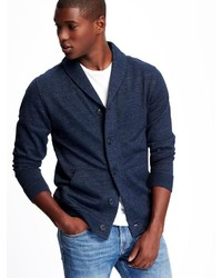 f992172e1ff ... Old Navy Shawl Collar Sweater Knit Fleece Cardigan For ...
