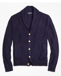 Brooks Brothers Supima Cotton Shawl Collar Cardigan