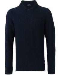 A.P.C. Shawl Collar Sweater