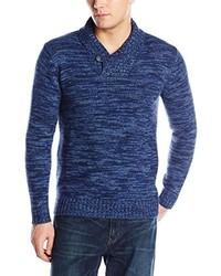 Alex Cannon Long Sleeve 5gg Shawl Sweater