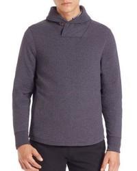 Billy Reid Barnes Shawl Collar Sweater