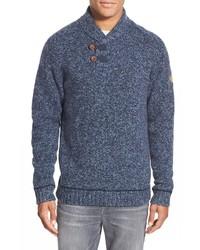 Fjallraven Lada Regular Fit Shawl Collar Sweater