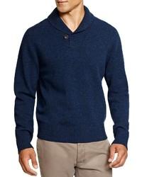 Brooks Brothers Lambswool Shawl Collar Sweater