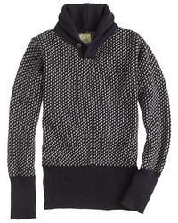 J.Crew North Sea Clothing Victory Shawl Collar Sweater