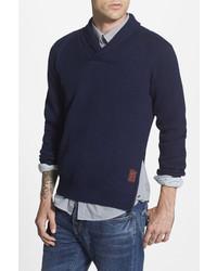 Scotch & Soda Shawl Collar Pullover Sweater