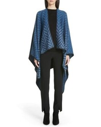 Missoni Zigzag Wool Cape