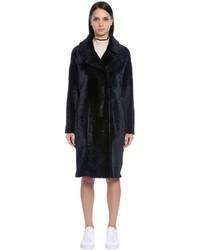 Reversible shearling coat medium 4417770