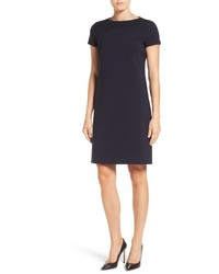 BOSS Danuni Short Sleeve Sheath Dress