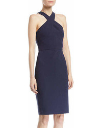 LIKELY Carolyn Halter Neck Sheath Dress