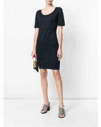 D-Exterior Dexterior Textured Knit Dress