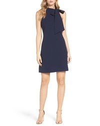 Vince Camuto Halter Tie Neck A Line Dress