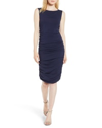 Kenneth Cole New York Shirred Sheath Dress