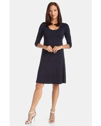 Karen Kane A Line Jersey Dress
