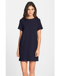 Devery crepe shift dress medium 279122