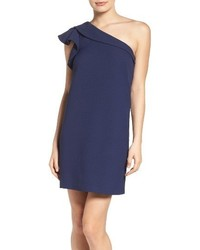 Greylin One Shoulder Shift Dress