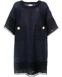 Faith Connexion Oversized Pockets Shift Dress