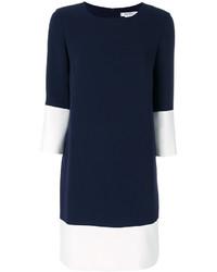 Max Mara White Panel Shift Dress