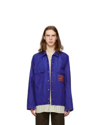 Gucci Blue Eterotopia Jacket