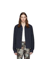 Dries Van Noten Blue Vinkler Jacket